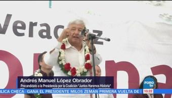 López Obrador Gira Veracruz Andrés Manuel