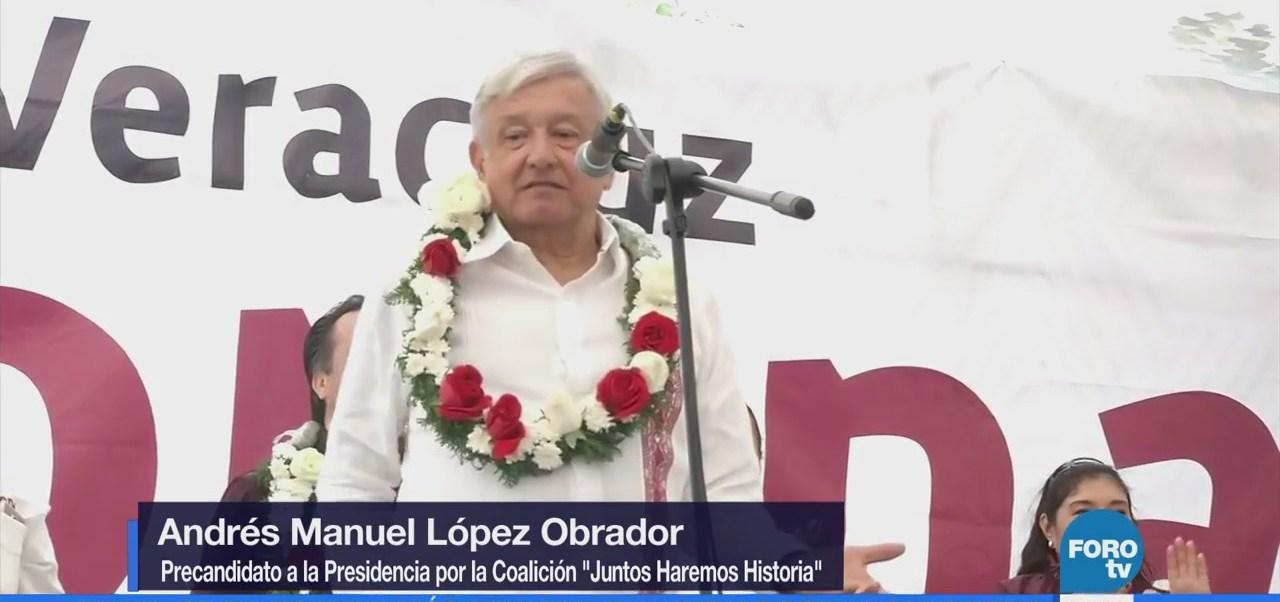 López Obrador realiza gira en Veracruz