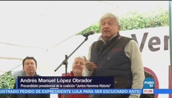 Andrés Manuel López Obrador regresa a Veracruz