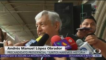 López Obrador reitera su bienvenida a Gabriela Cuevas y a Cuauhtémoc Blanco