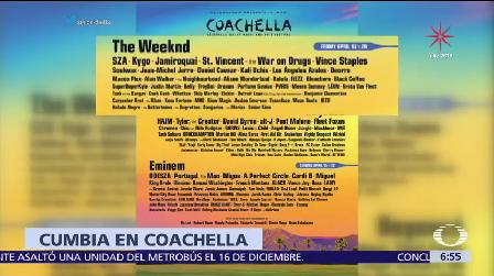 Ángeles Azule cartel Coachella