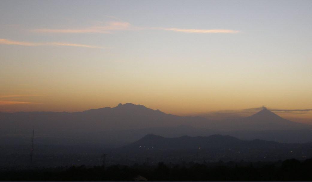 Municipios del Estado de México presentan mala calidad del aire.