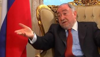 embajador rusia niega intervencion su gobierno elecciones mexico