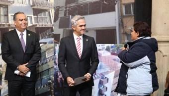 Mancera anuncia modificaciones en programas sociales por época electoral