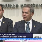 Mancera afirma que CDMX seguirá investigando la desaparición de Marco Antonio Sánchez