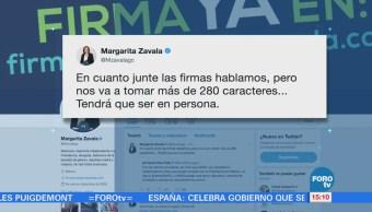 Margarita Zavala responde a Ríos Piter