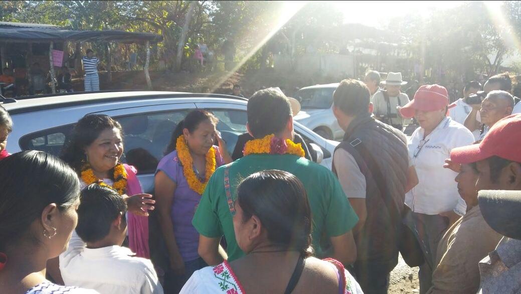 INE condena agresión a caravana de 'Marichuy' en Michoacán