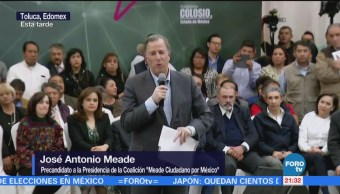 Meade participa en el foro 'Puntos de Encuentro' en Toluca