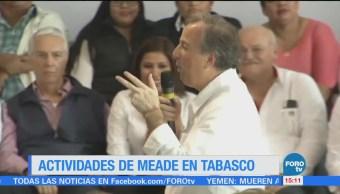 Meade Pide Apoyo Tabasqueños