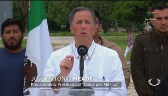Meade propone medidas anticorrupción