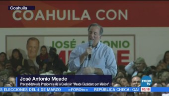 Meade Realiza Actividades Saltillo Coahuila