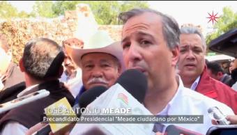 Meade rechaza propuesta brindar amnistía delincuentes