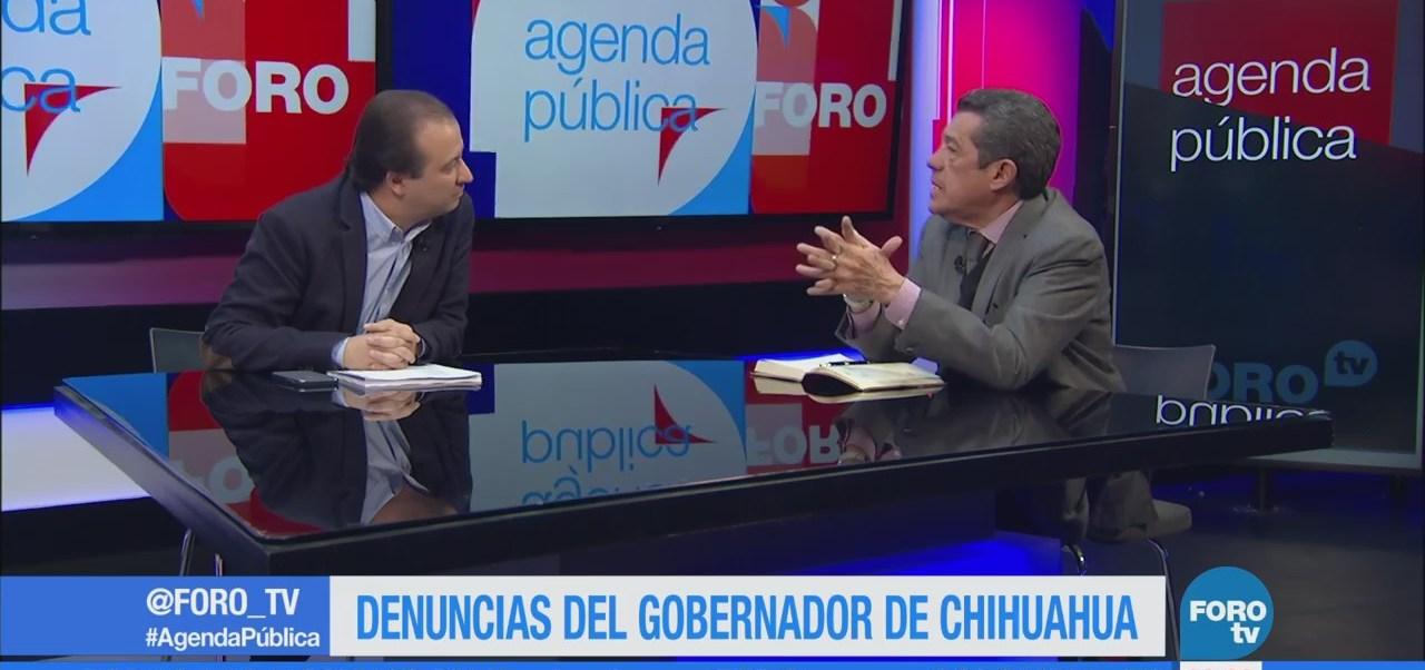 Mesa política en Agenda Pública y Rafael Cardona