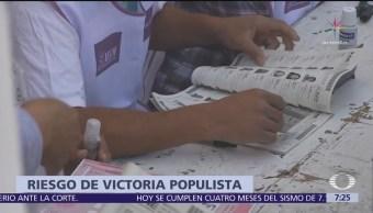 México, en riesgo de victoria electoral populista, dice HRW