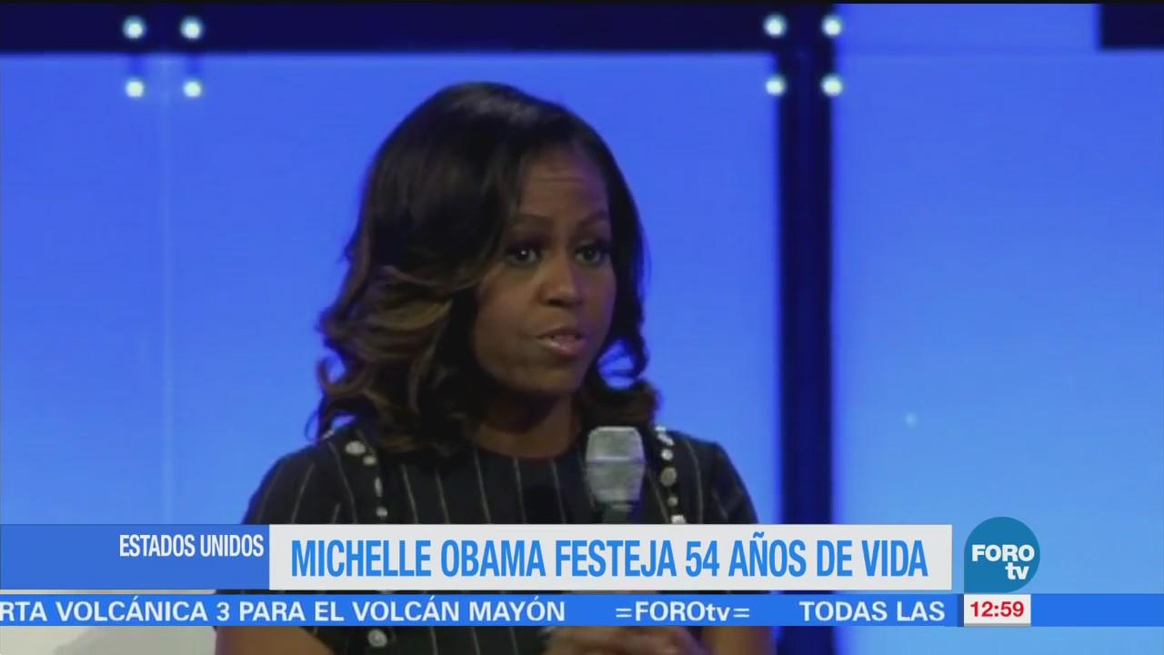 Michelle Obama cumple 54 años de edad