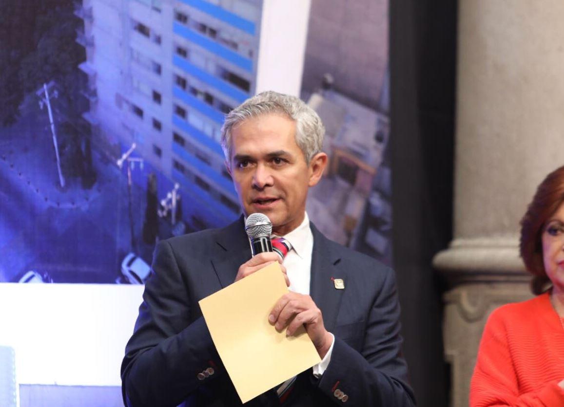 Jefe de Gobierno presenta Programa de Reconstrucción para la CDMX