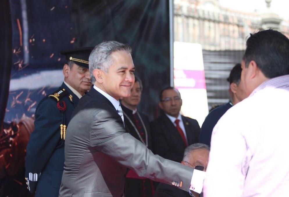 Mancera pide proteger frontera de la CDMX con el Edomex