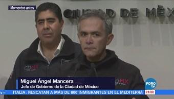 Miguel Ángel Mancera Confirma Localización Marco Antonio Sánchez