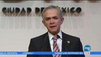 Miguel Ángel Mancera habla del salario mínimo