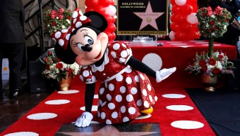 Minnie Mouse recibe estrella paseo fama Hollywood