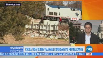 Muere una persona tras choque de tren en Virginia