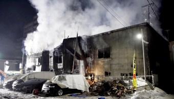 Incendio hogar indigentes deja 11 muertos Japón