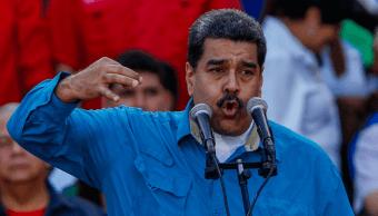 Nicolás Maduro durante un acto público en Caracas, Venezuela