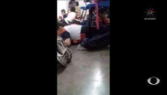 ninos cantan pecho tierra durante balacera escuela sonora
