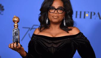 La presentadora de TV Oprah Winfrey AP
