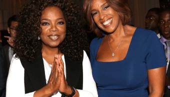 Oprah Winfrey y Gayle King durante un evento en 2015