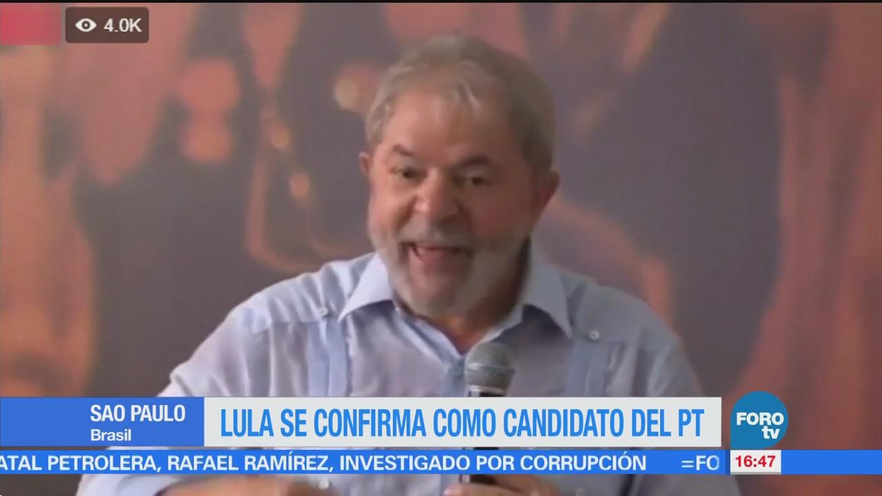 Ordenan retener pasaporte de Lula da Silva