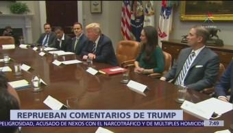Países del mundo expresan repudio a expresiones de Trump