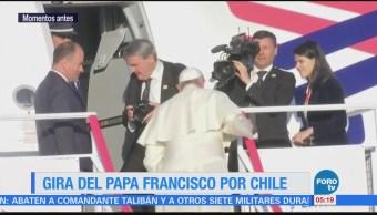Papa Francisco emprende viaje a Perú, desde Chile
