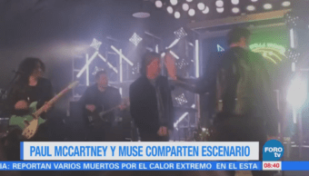 Paul McCartney y Muse comparten escenario