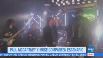 Paul McCartney y Muse comparten escenario