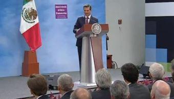 Peña Nieto pide no perder de vista los avances