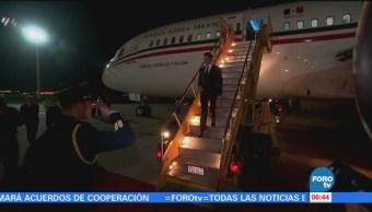 Peña Nieto realiza visita oficial a Paraguay