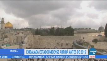 Pence: Embajada de EU en Jerusalén, antes que concluya 2019