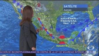 Persiste ambiente de frío a gélido en noreste, oriente y centro del país
