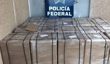 Policía Federal asegura 400 mil cigarrillos ilegales en Sinaloa