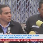 Policías del caso Marco Antonio Sánchez terminan comparecencia en la CDHDF