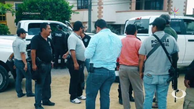 retienen policias que buscaban elemento implicado caso marco antonio sanchez