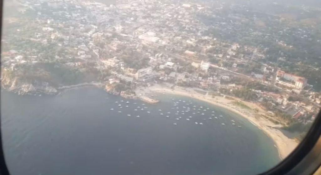 Por aire y mar buscan a 3 pescadores en Oaxaca