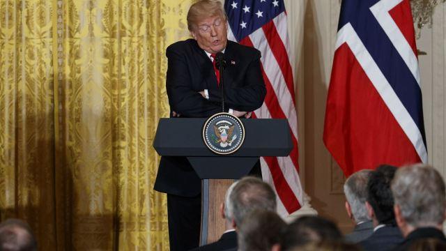 Trump dice que EU podría 'retornar' al acuerdo de París