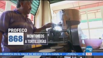 Profeco Realiza Operativa Tortilla Todo País