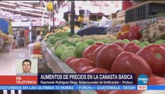 Profeco sancionará abuso en precios de canasta básica: Raymundo Rodríguez