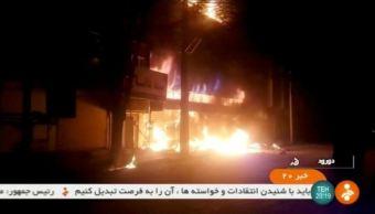 television irani reporta nueve muertos en protestas; suman 20