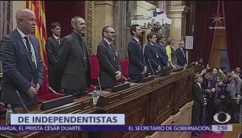 Queda conformado el nuevo Parlamento de Cataluña