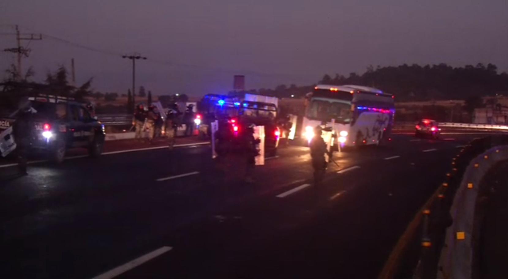 reabren autopista mexico puebla tras bloqueo