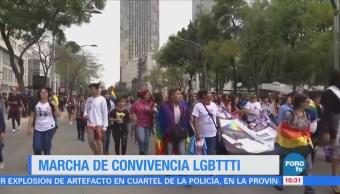 Realizan marcha por el orgullo gay en la CDMX